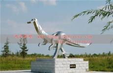 不锈钢龙雕塑加工厂 腾飞不锈钢雕塑图片