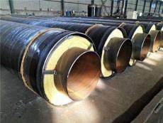 钢套钢直埋式蒸汽保温管道