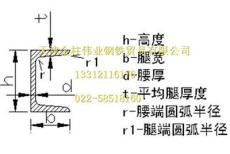 天津Q235槽钢
