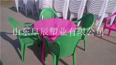 阜辰沙灘塑料桌椅的生產廠家啤酒塑料桌椅