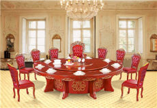 秉德電動餐桌 宴會桌經典豪華版