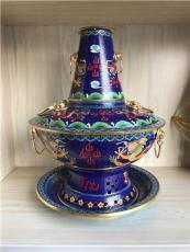 铜火锅纯手工紫铜火锅加厚木炭火锅传统铜火