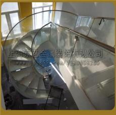 上海京艺金属专业打造360 旋转楼梯提供CAD
