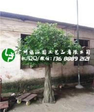 仿真大樹大型假樹仿真綠植仿真榕樹室內包柱