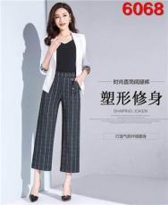 武汉爱弗瑞服饰供应兰博妃18春装纯单品裤子
