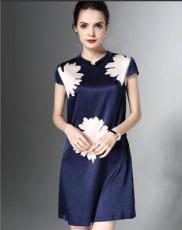 杭州大牌詩菲迪18夏裝連衣裙一手貨源 女裝