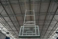 電動籃球架鋼化板籃球架墻壁式籃球架