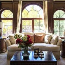 绿盾美佳铝包木厂家批发系列实木窗