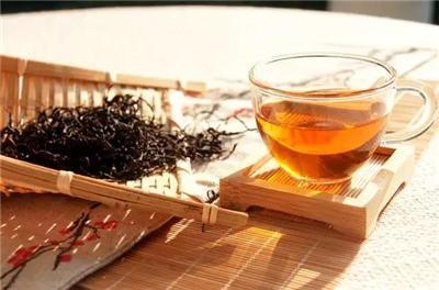 江西传统发酵虔茶红杉手工茶