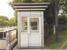 生产加工铝塑板岗亭 铝塑板社区岗亭