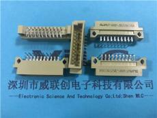 2.54x20PIN双排90度DIP220插座欧式公头