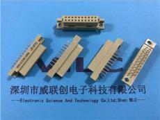 220欧式插座2.54mm180度直插母座20PIN