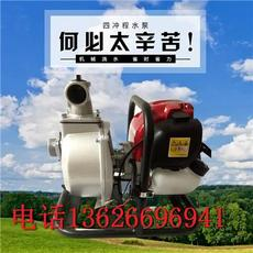 汽油機水泵農用1寸2寸手提式四沖汽油抽水機