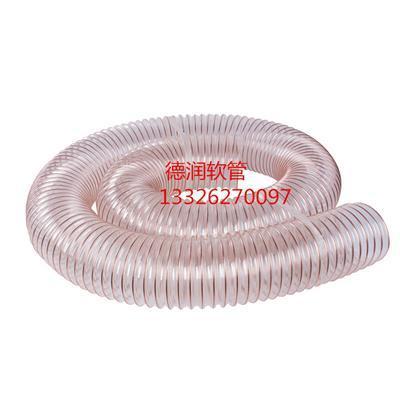 钢丝软管透明耐高温伸缩管镀铜波纹管