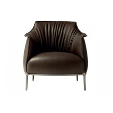 酒店真皮沙发椅 Archibald Armchair