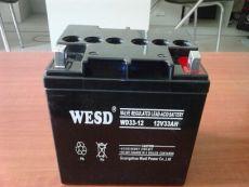 WESD无敌蓄电池WD12-12 12V12AH现货