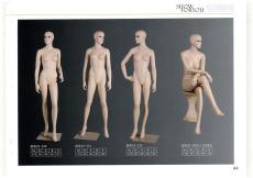 沈阳服装展示模特定做厂家