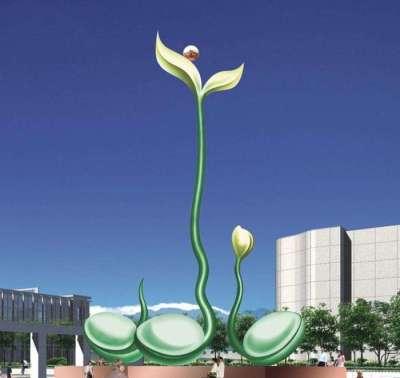 河南雕塑厂家供应不锈钢景观广场雕塑