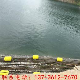 两片夹网浮筒聚乙烯拦污排厂家
