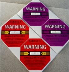 嘉义国产DAMAGE X防震动显示标签包邮