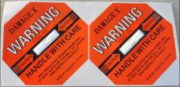 本溪國產DAMAGE X防震動顯示標簽批發