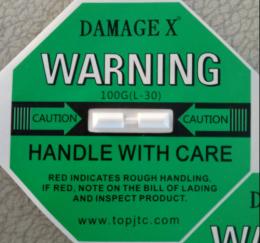 吉林國產DAMAGE X防震動顯示標簽包郵