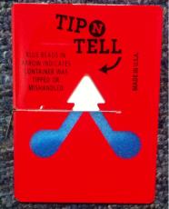 来宾人字型防倾倒警示标贴批量订购电话