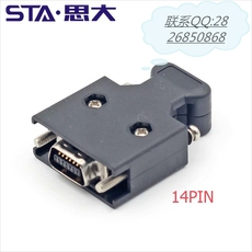 3M10314SCSI14P连接器MDR14芯伺服器连器插