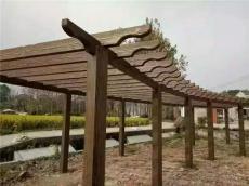 仿木护栏仿木凳子仿木葡萄架仿木花箱花桶