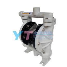 微型气动隔膜泵QBY-15耐腐蚀工程塑料