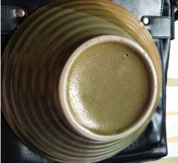 青釉炫纹碗