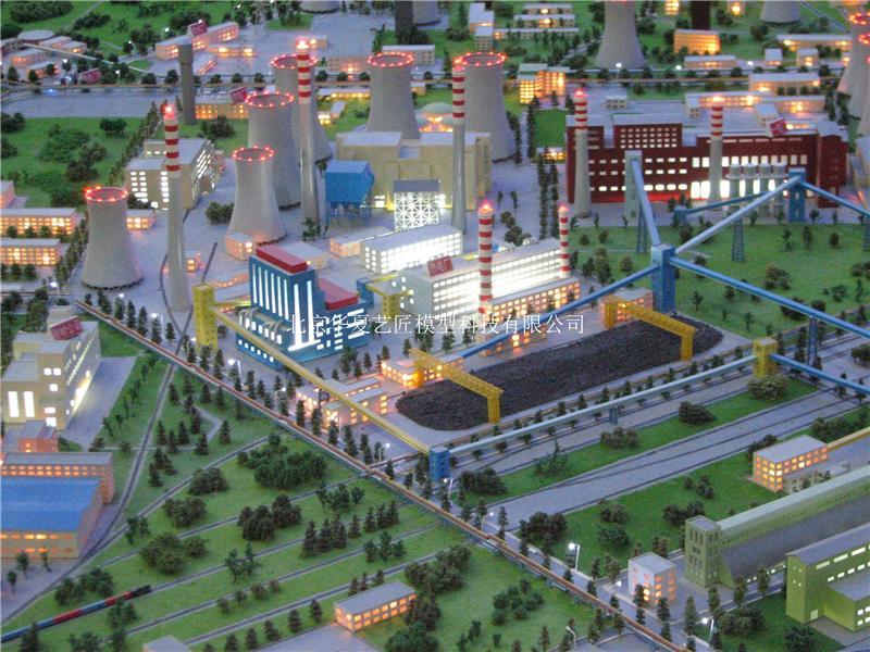 专业炼钢工业沙盘模型工业流程设计制作办公楼装修设计效果图图片