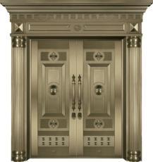 哈尔滨高端别墅铜门安装哪家服务好