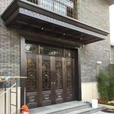 哈尔滨铜门雨搭制作多少钱一平