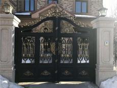哈尔滨高档庭院铜门哪个品牌好