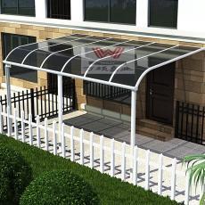 定制别墅铝合金雨棚 遮阳棚阳台棚露台棚