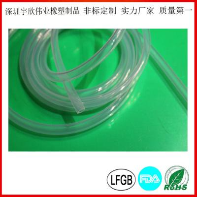 高透明医用硅胶管 食品级雾化器硅胶管
