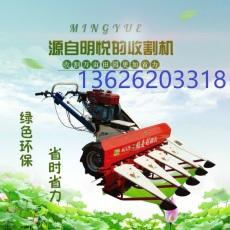 割幅为1.2米的小型收割机快速收割农作物