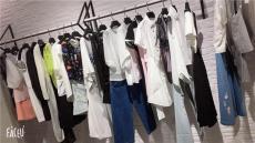 服装城时装批发市场哥芙妮专柜同步女装批发