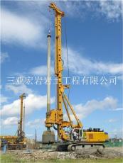 三亚专业高压旋喷桩冲孔灌注桩施工队公司