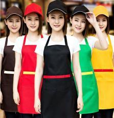昆明围裙定制水果超市促销餐饮奶茶店围腰定