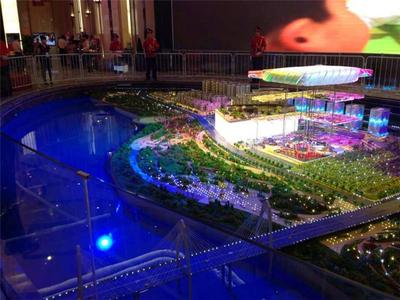 內蒙古展廳沙盤模型制作