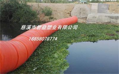 水上拦污网浮筒高清图
