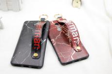 手机壳创意欧美款腕带支架可彩绘定制