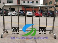 上海地鐵不繡鋼護欄活動隔離欄鐵馬護欄廠家