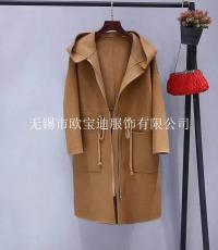 新款女装双面呢大衣供应商双面呢大衣批发