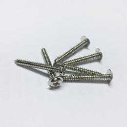廠家專業定制十字圓頭帶墊自攻螺絲PWA3X25 尖尾螺絲
