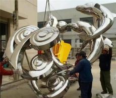 北京金属雕塑景观标识不锈钢雕塑安装厂家
