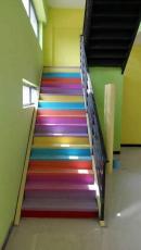 幼儿园塑胶地板施工