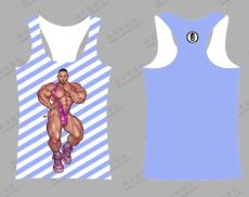 男士定制夏季速干緊身汗衫男青年馬拉松背心